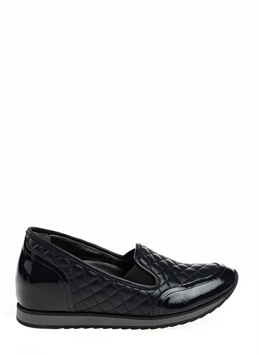 Divarese Divarese 5014658 K Günlük Deri Dikiş Detalylı Ayakkabı Lacivert